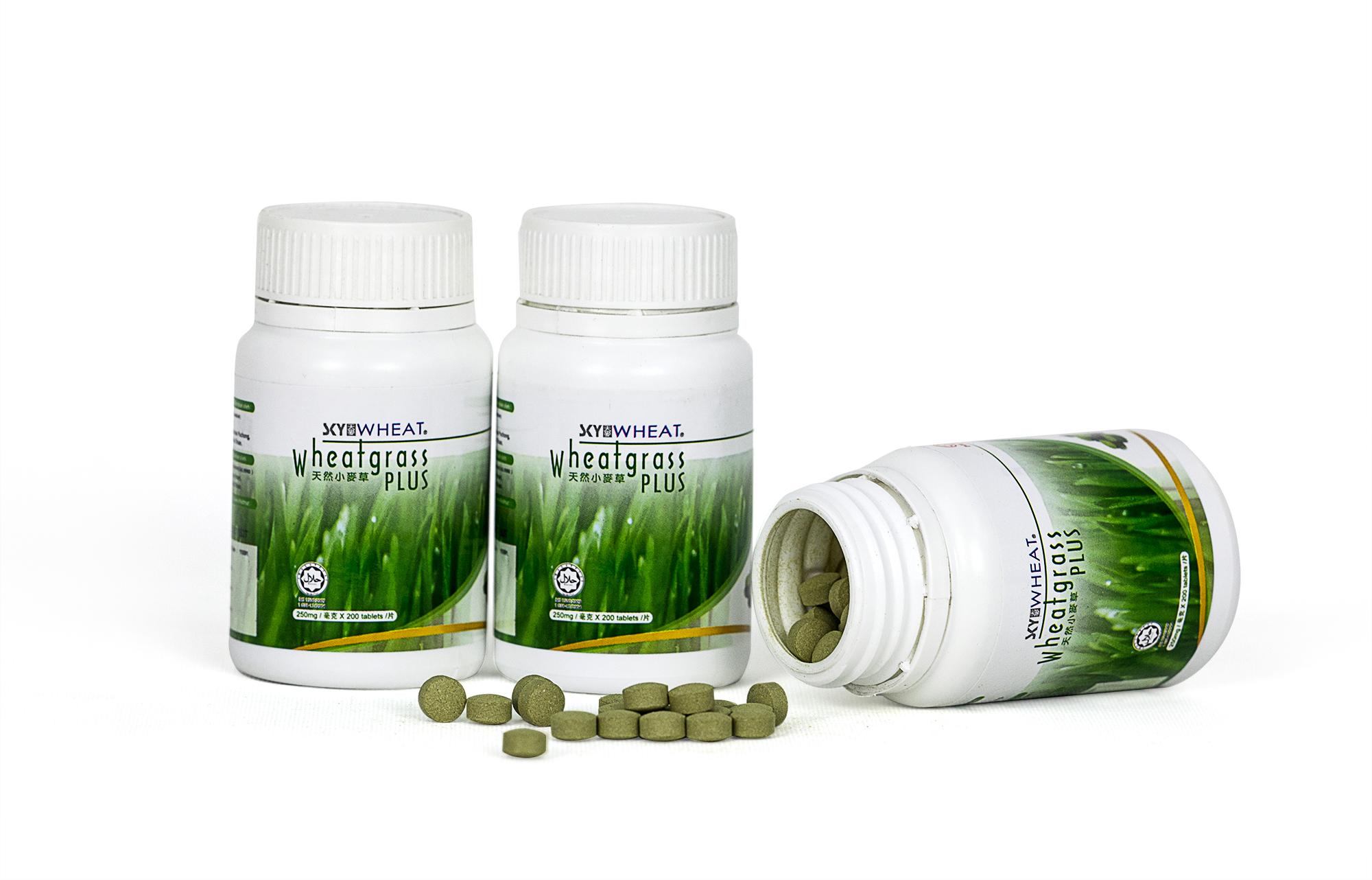 Skywheat wheatgrass Plus